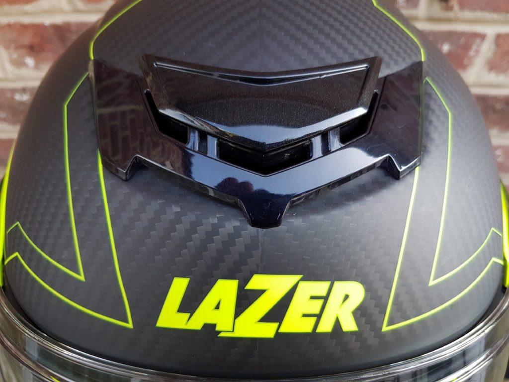 Casque Lazer Monaco Carbone Droid, la quadrature du modulable.