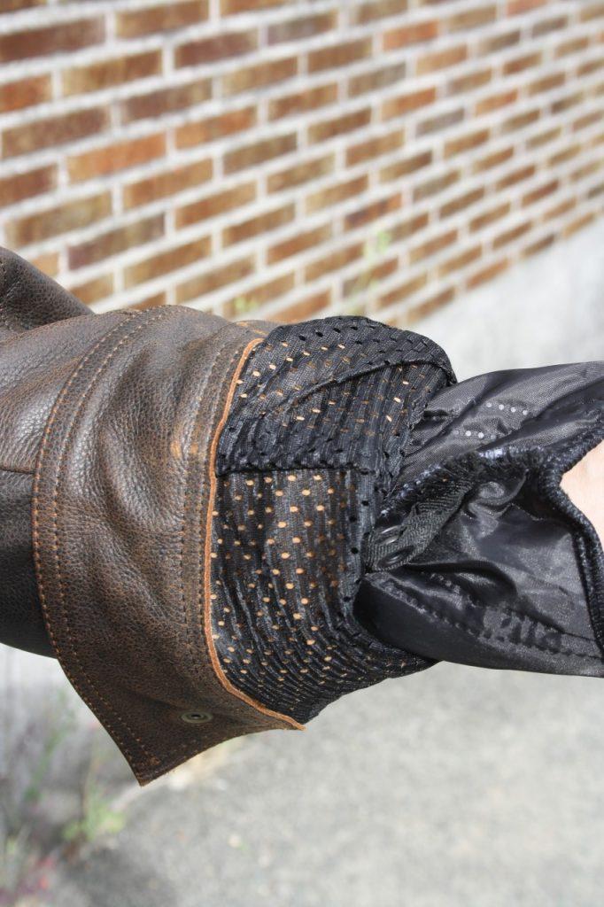 Blouson cuir Zolki Biker Vintage, chic et pas cher.