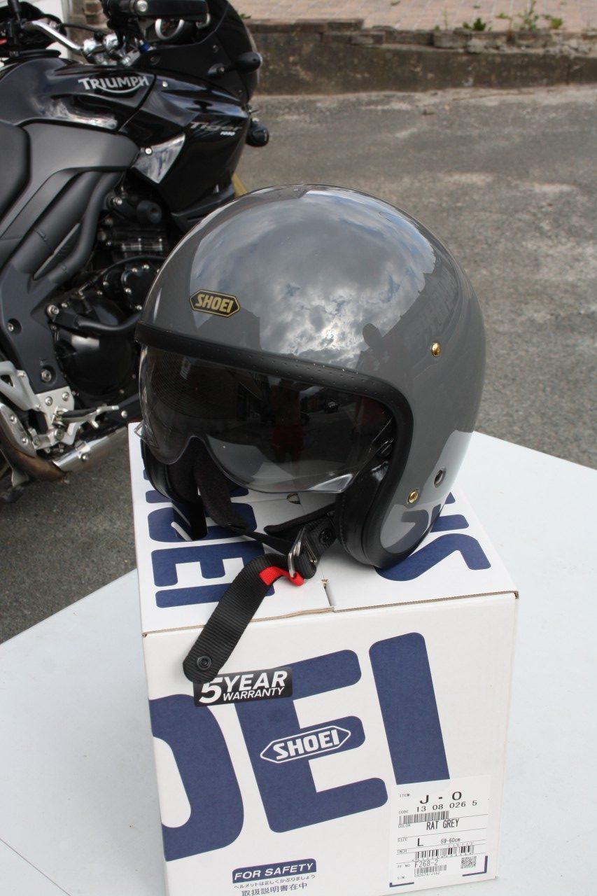 Casque Shoei J O Jet De Luxe Objectif Moto
