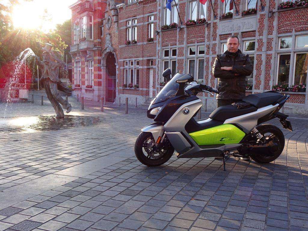 BMW C EVO L'avenir sera pétillant !