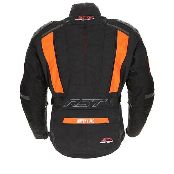 22ceb8aa3dad RST Pro Series Adventure 3 Textile Jacket-Orange-Black back 319439.jpg