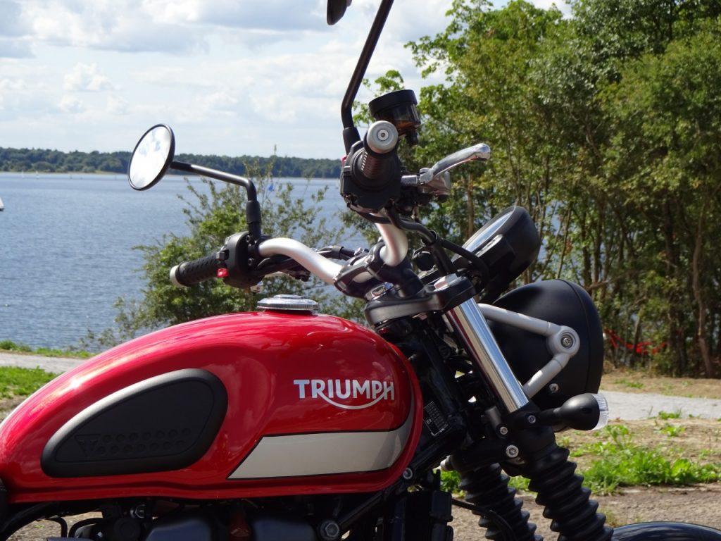 Triumph Street Scrambler fidèle et éternelle