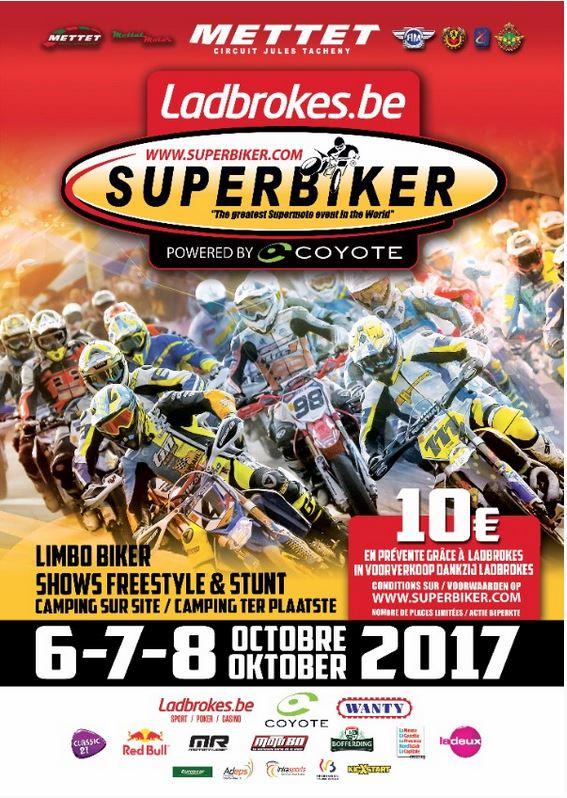 Votre entrée au Superbiker de Mettet à 10 € avec Ladbrokes
