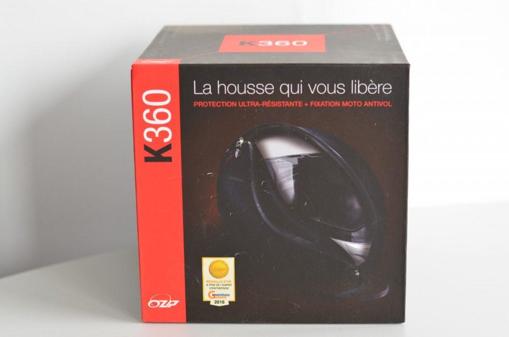 Ozip K360 ou comment protéger votre casque à l'arrêt.