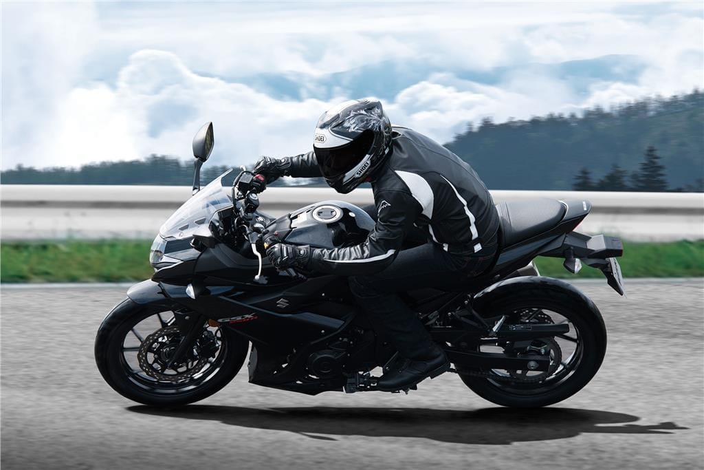 Suzuki GSX250R: elle brouille les pistes