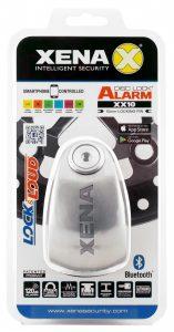 Xena propose un bloque disque alarme à technologie Bluetooth.