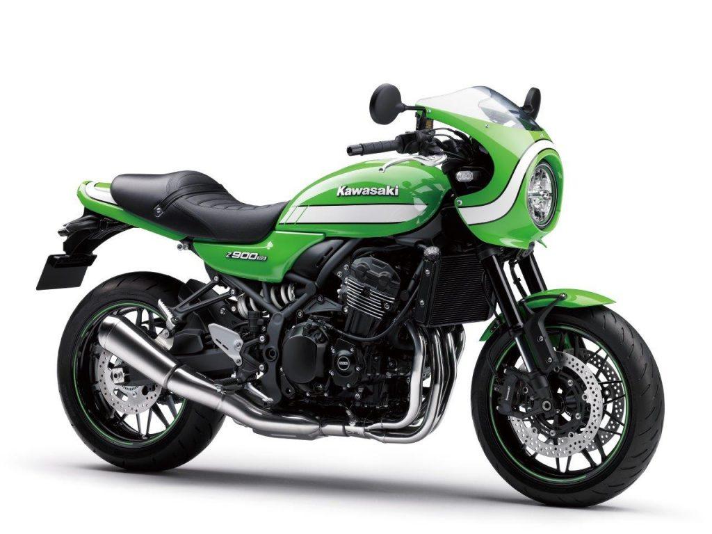 Ca bouge aussi chez Kawasaki avec une H2 SX et une Z900 RS Café Racer