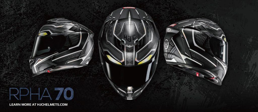 Le HJC R-PHA70 version Marvel Black Panther, je dis OUI !