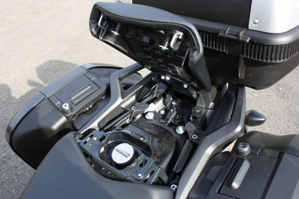 Honda NC750X DCT modèle 2018: l'âge de raison