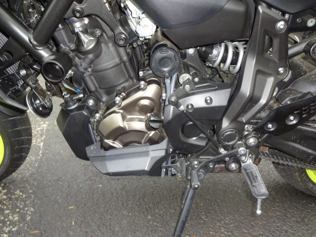 La nouvelle Yamaha MT-07 encore meilleure
