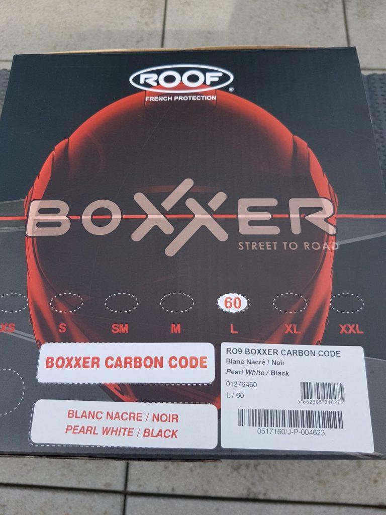 Roof BoXXer Carbone code, évolution d'espèce.