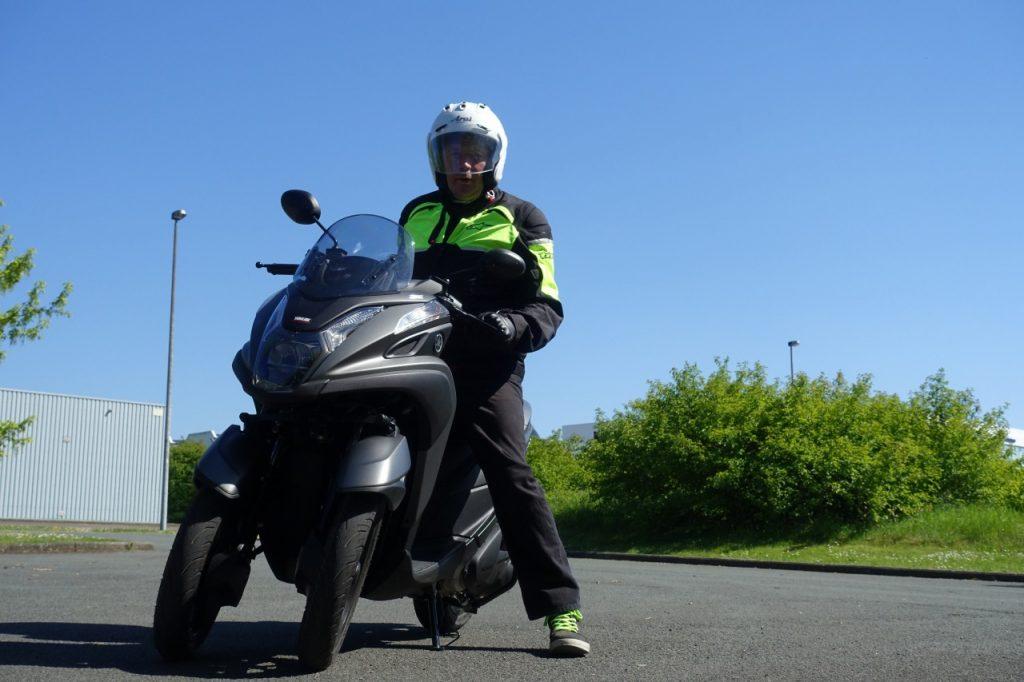Yamaha Tricity 125, mobilité et sécurité.