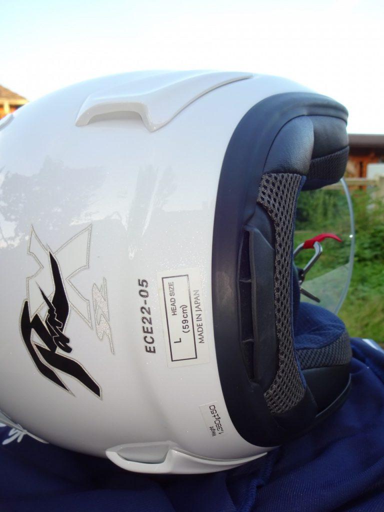 Le Arai SZ-Ram X, le jet haut de gamme et sportif
