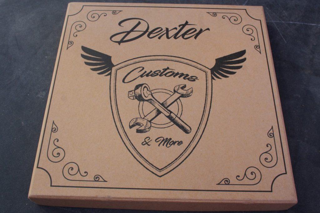 Casque Dexter Marty Pistons et masque Dexter Binocle, Vintage abordable.