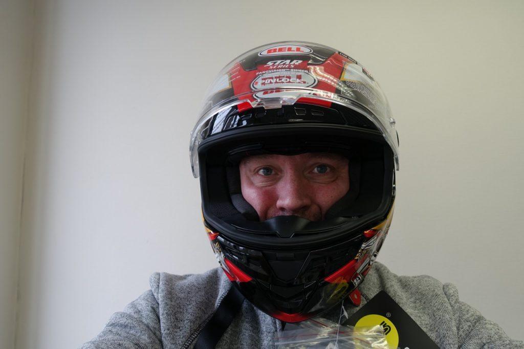 Bell Star, intégral racing version TT Le Man