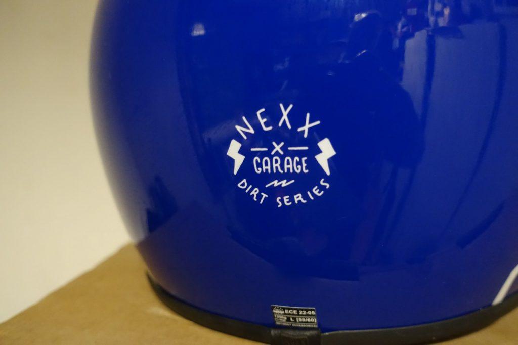 Nexx XG200 le cross vintage pour votre scrambler.