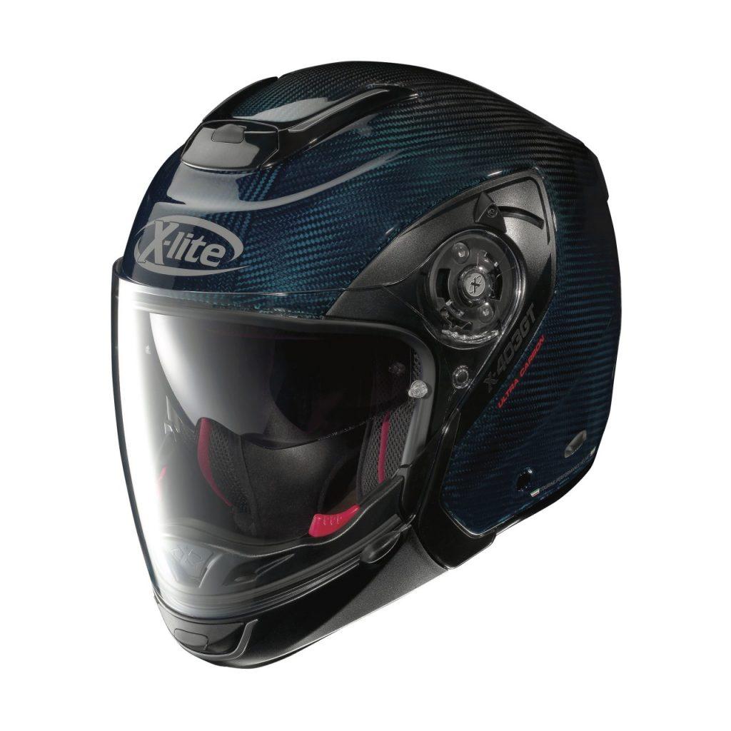 Un casque Crossover Carbone, original et c'est chez X-Lite, le X-403 GT