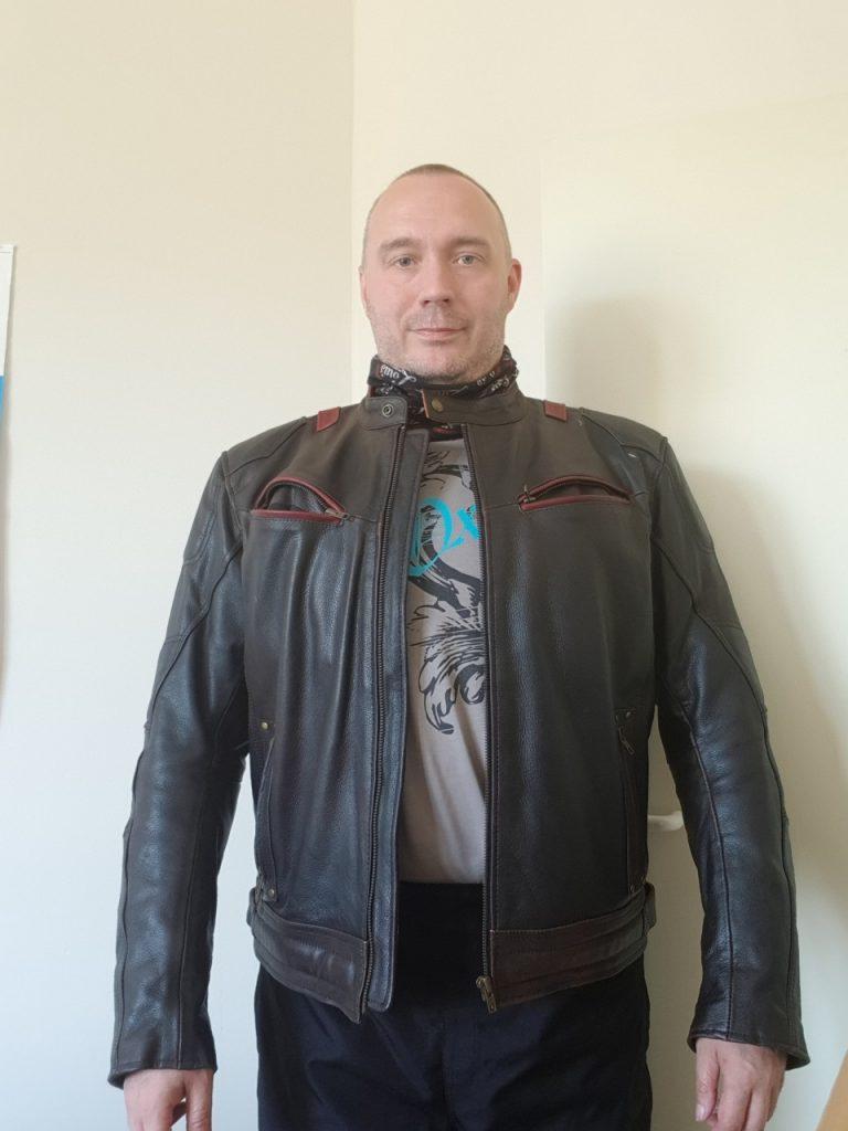 Un cuir vintage, le Zolki Rider