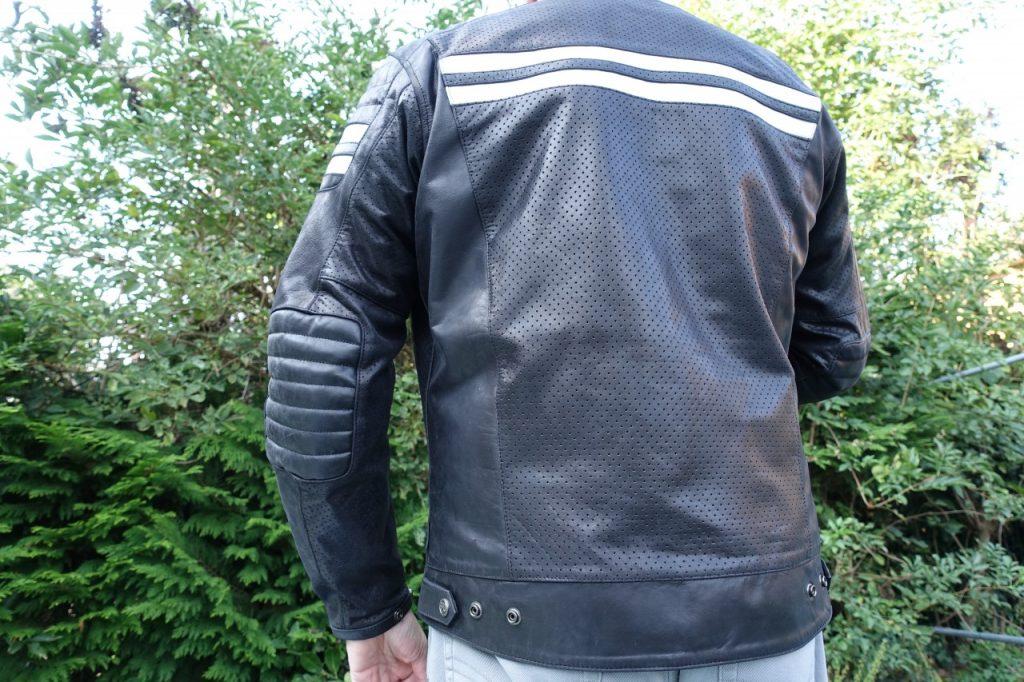 Le cuir en été, le Segura Stripe Perfo