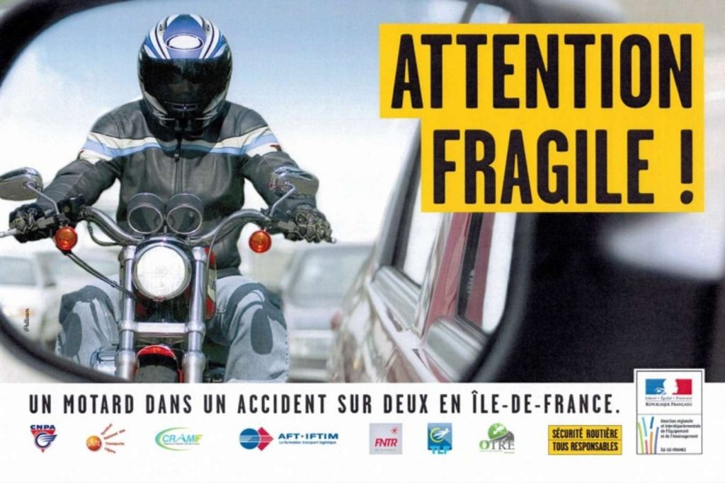Comment secourir un motard accidenté ?