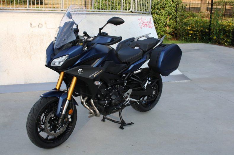 le plus fiable très loué conception populaire Yamaha Tracer 900 GT, la même en mieux.