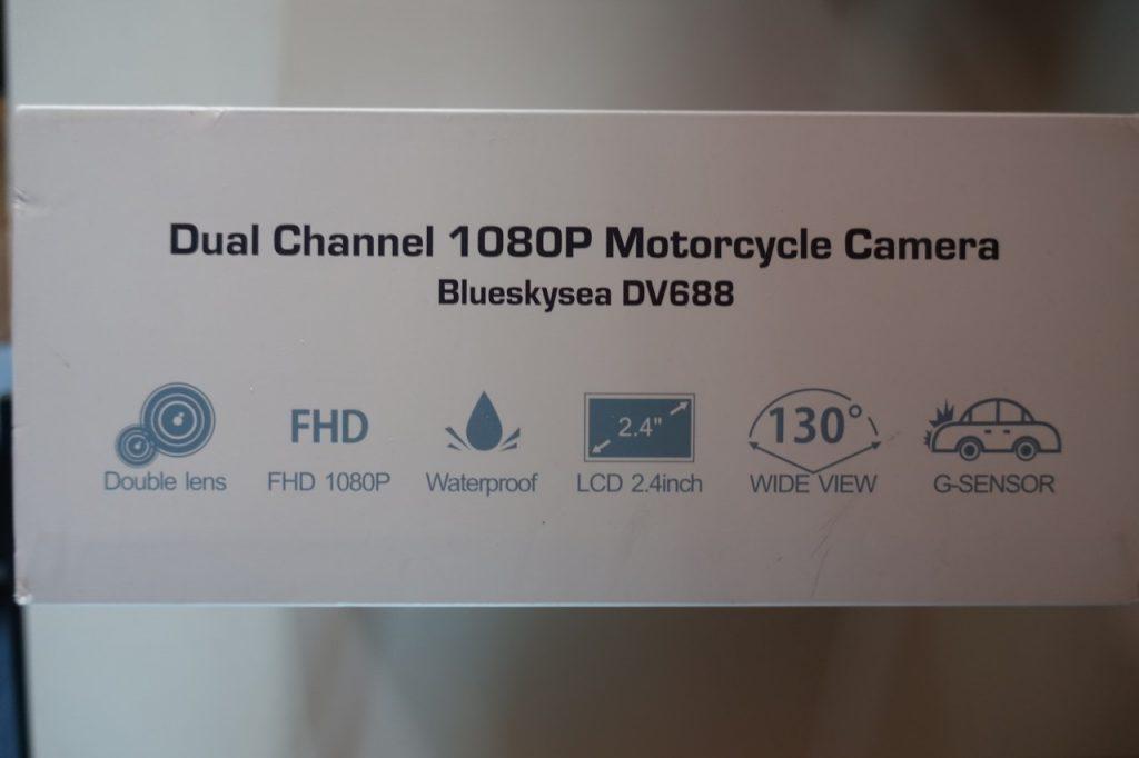 Filmez votre quotidien avec une double dashcam Blueskysea DV688