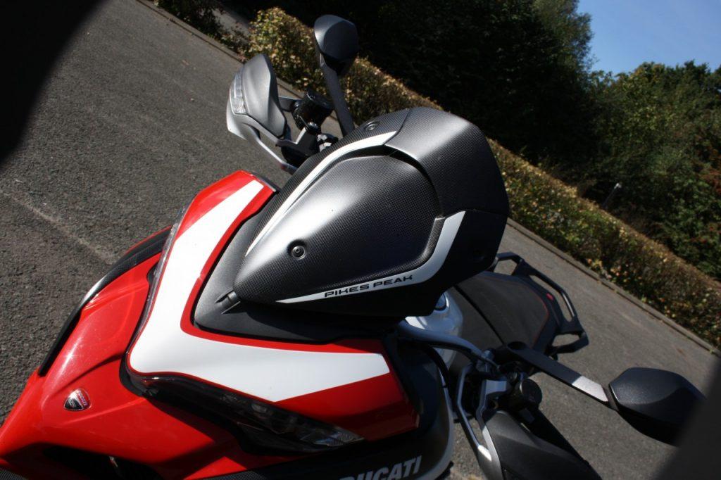 Ducati Multistrada 1260 Pikes Peak, pour une poignée de cc en plus…