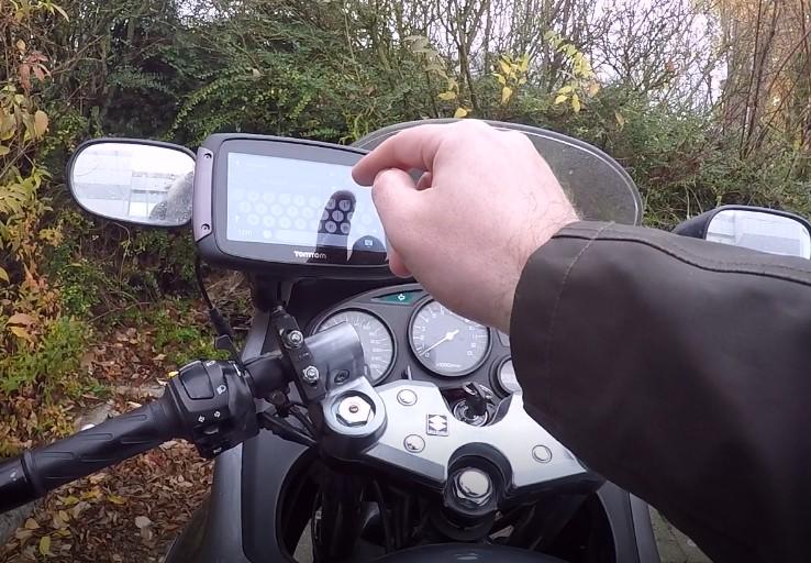 Tomtom Rider 550 plus que la navigation