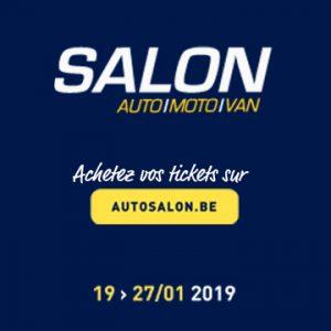 Concours salon de la moto de Bruxelles, des entrées à gagner dont 4 spéciales