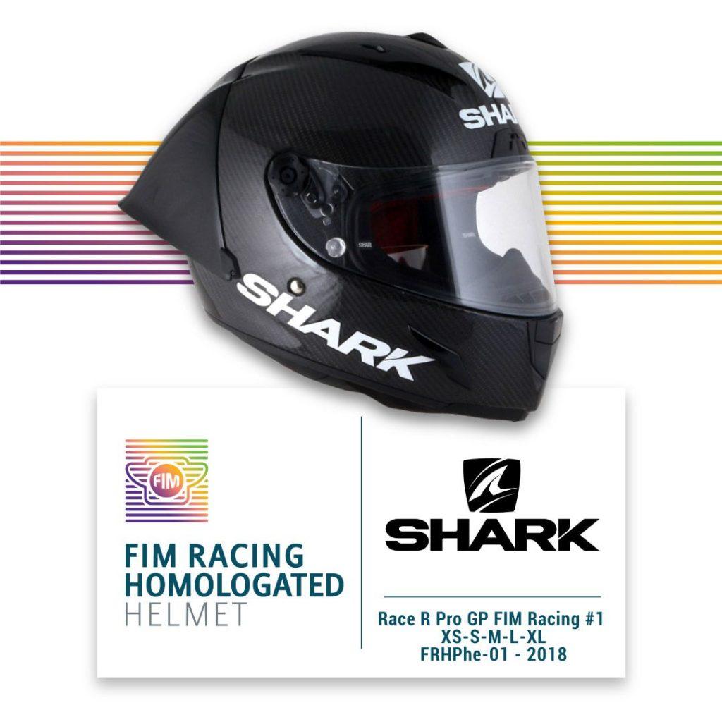 SHARK présente le premier casque homologué FIM pour la compétition