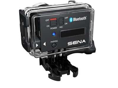 Sena Audio Pack : enregistrer votre voix sur votre Gopro