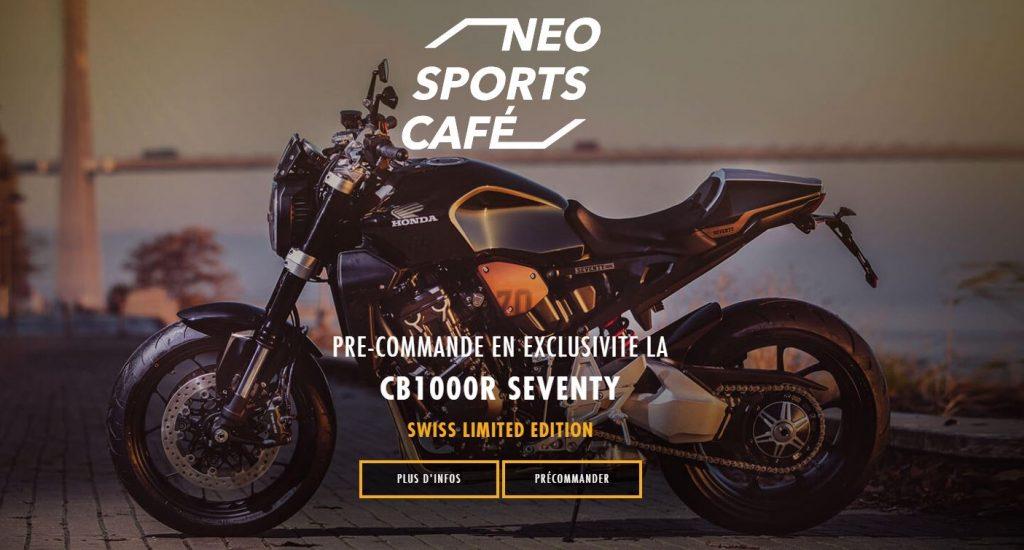 La Suisse aura une édition limitée de la Honda CB1000R