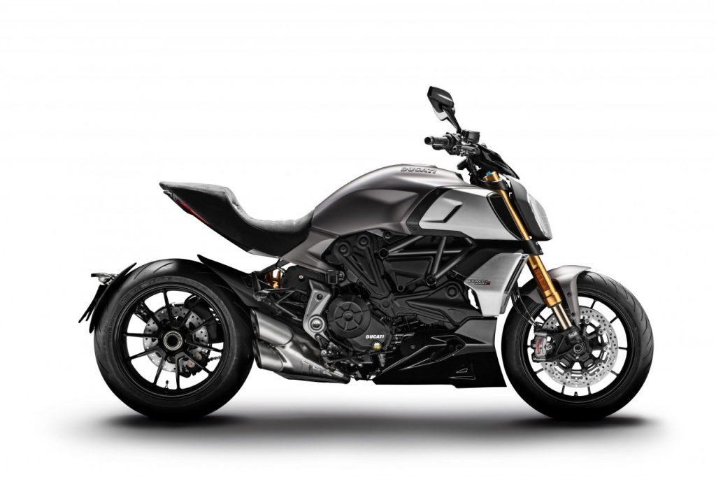 Le nouveau Ducati Diavel 1260 au Salon International de Genève.