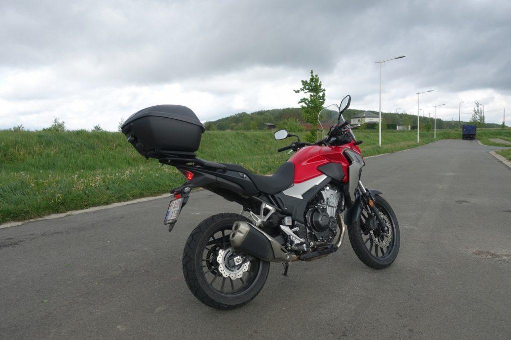 Un trail en permis A2, la Honda CB 500X