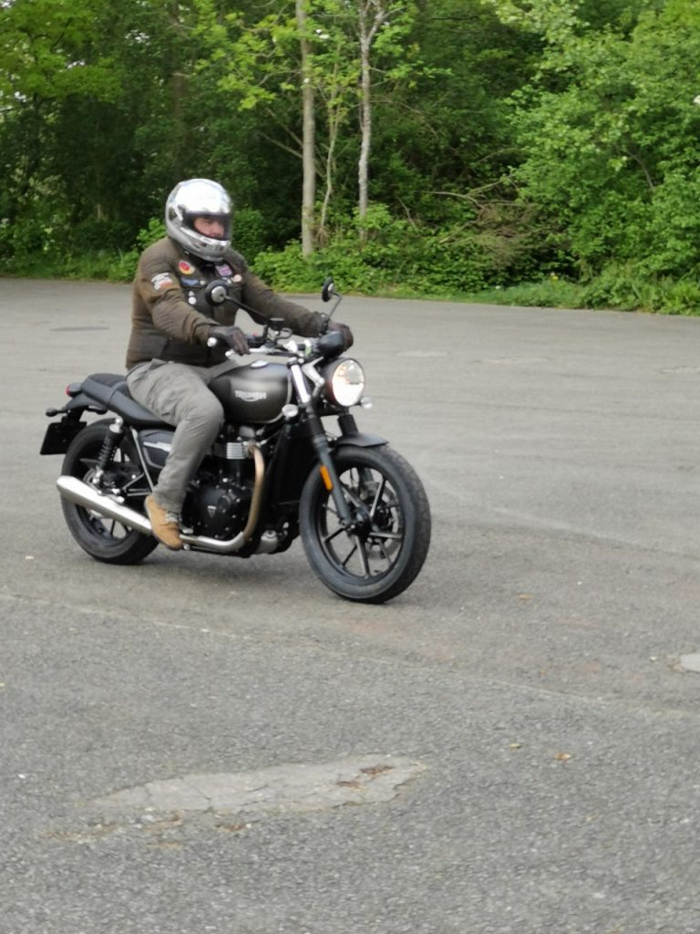 Triumph Street Twin, Little Toy