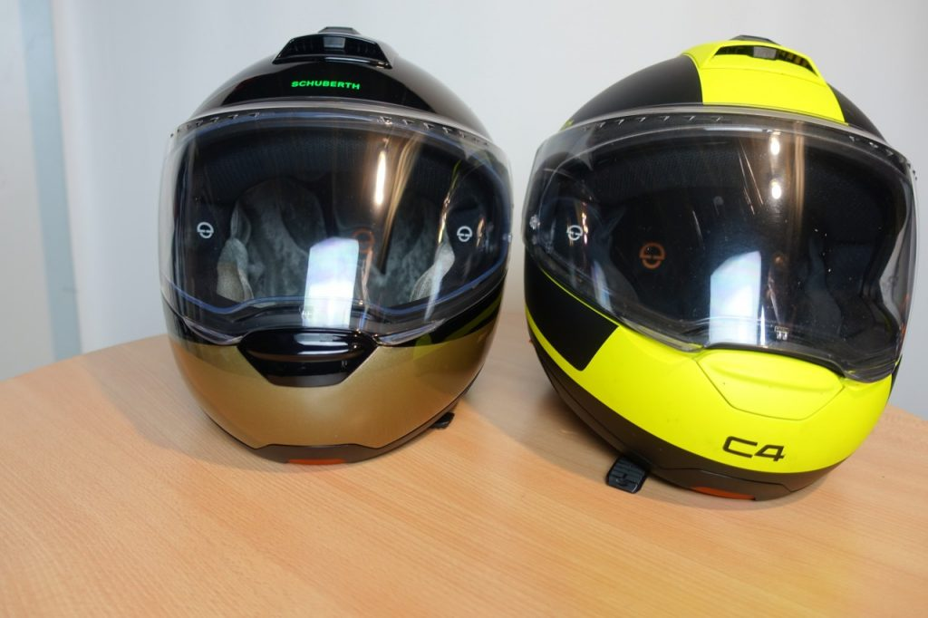 Schuberth C4 Pro, en progression