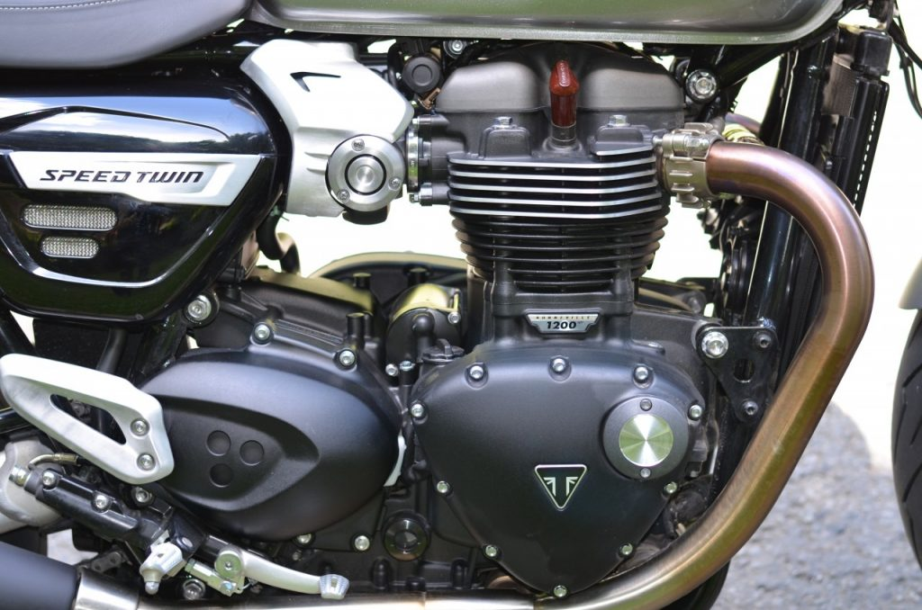 Triumph Speed Twin, le retour du twin