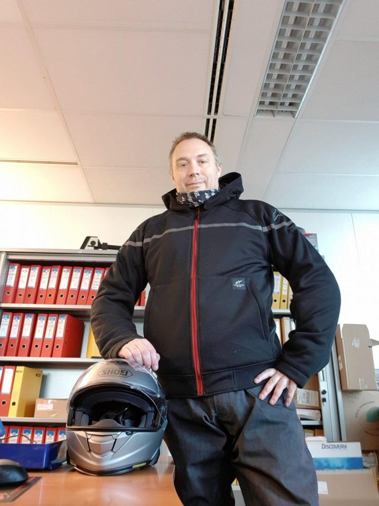 Alpinestars 24 Ride, le hoodie moto