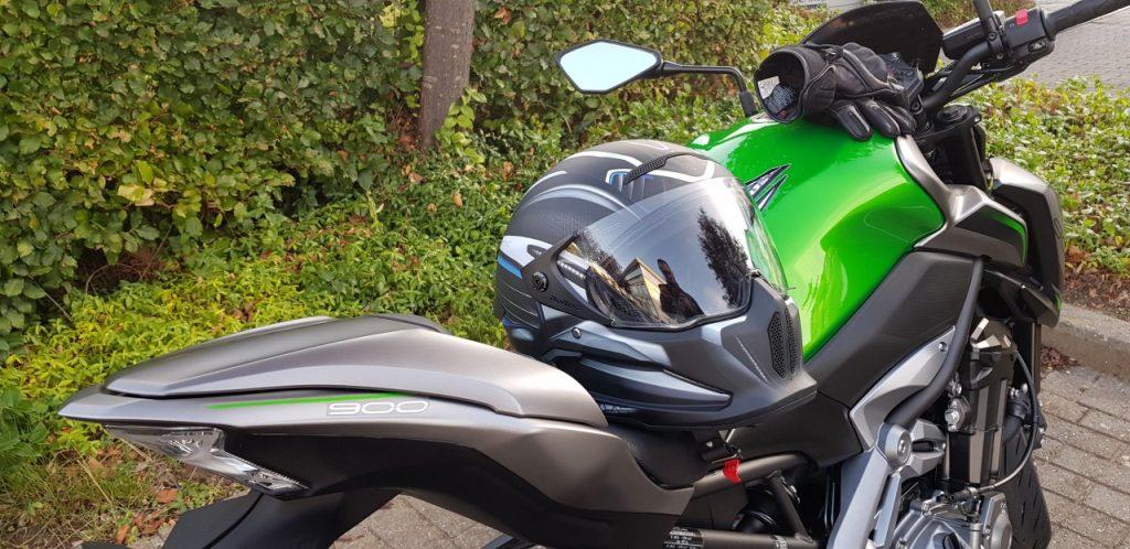 Kawasaki Z900 à l'ancienne comme on l'aime