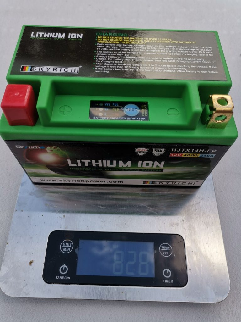 Batterie Skyrich Lithium-Ion, The big power
