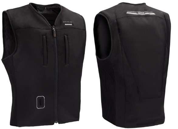 BERING demande de suspendre l'utilisation de son gilet airbag filaire moto « C-PROTECT AIR », modèle homme, pour les produits concernés par 11 lots.