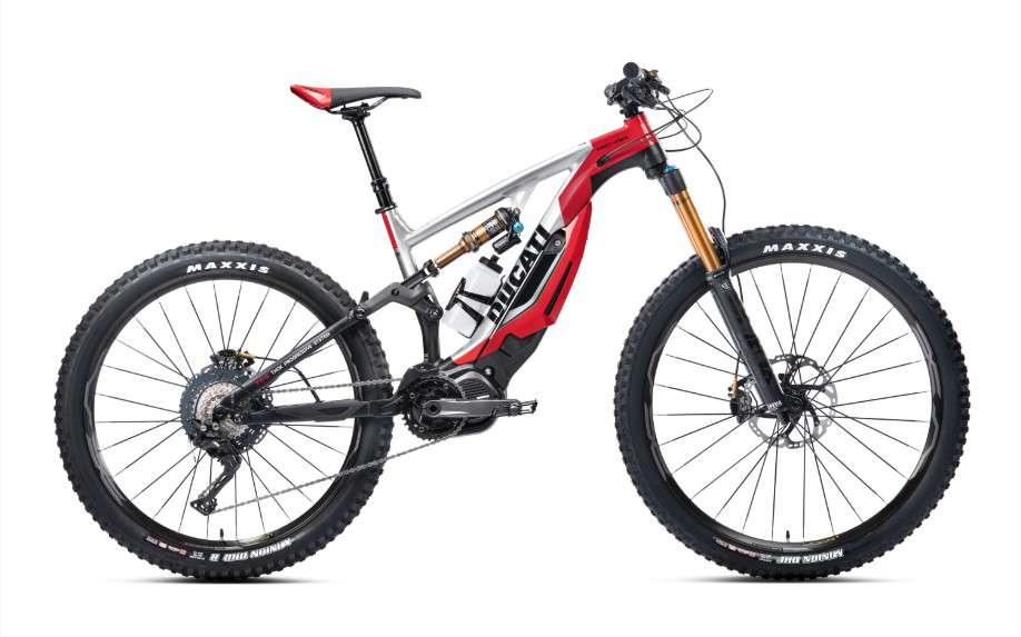 En Ducati mais pas à moto, les e-bikes italiens.