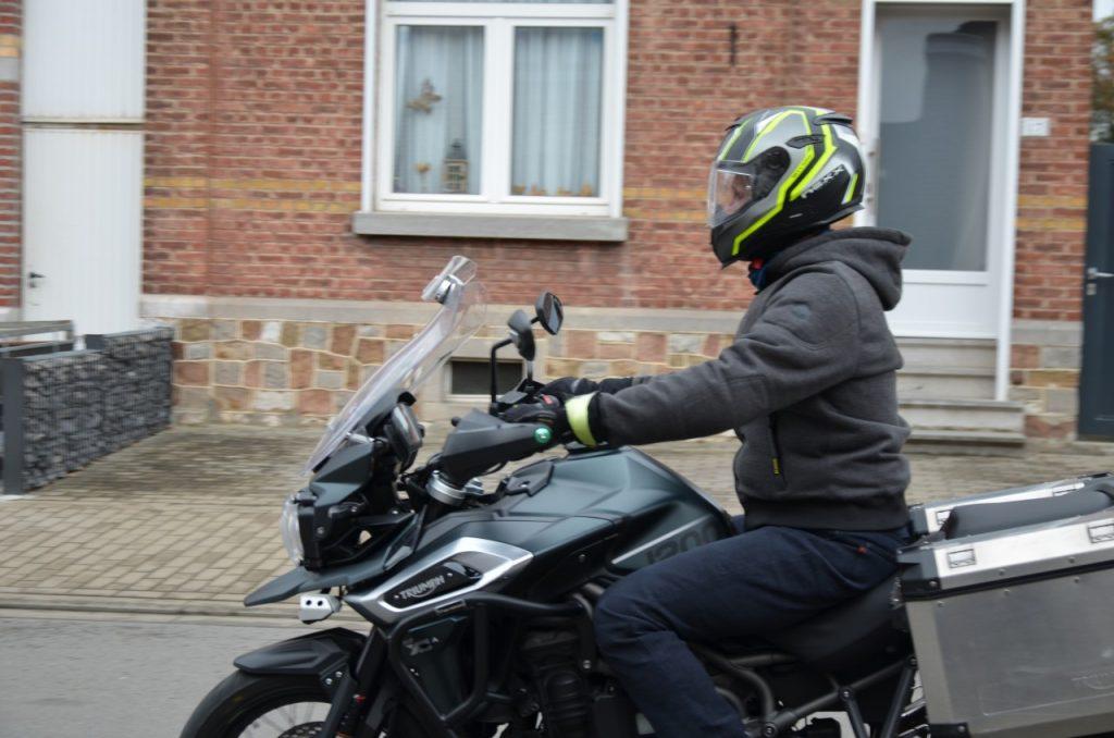 Brad X Kevlar : le sweat moto selon Furygan.