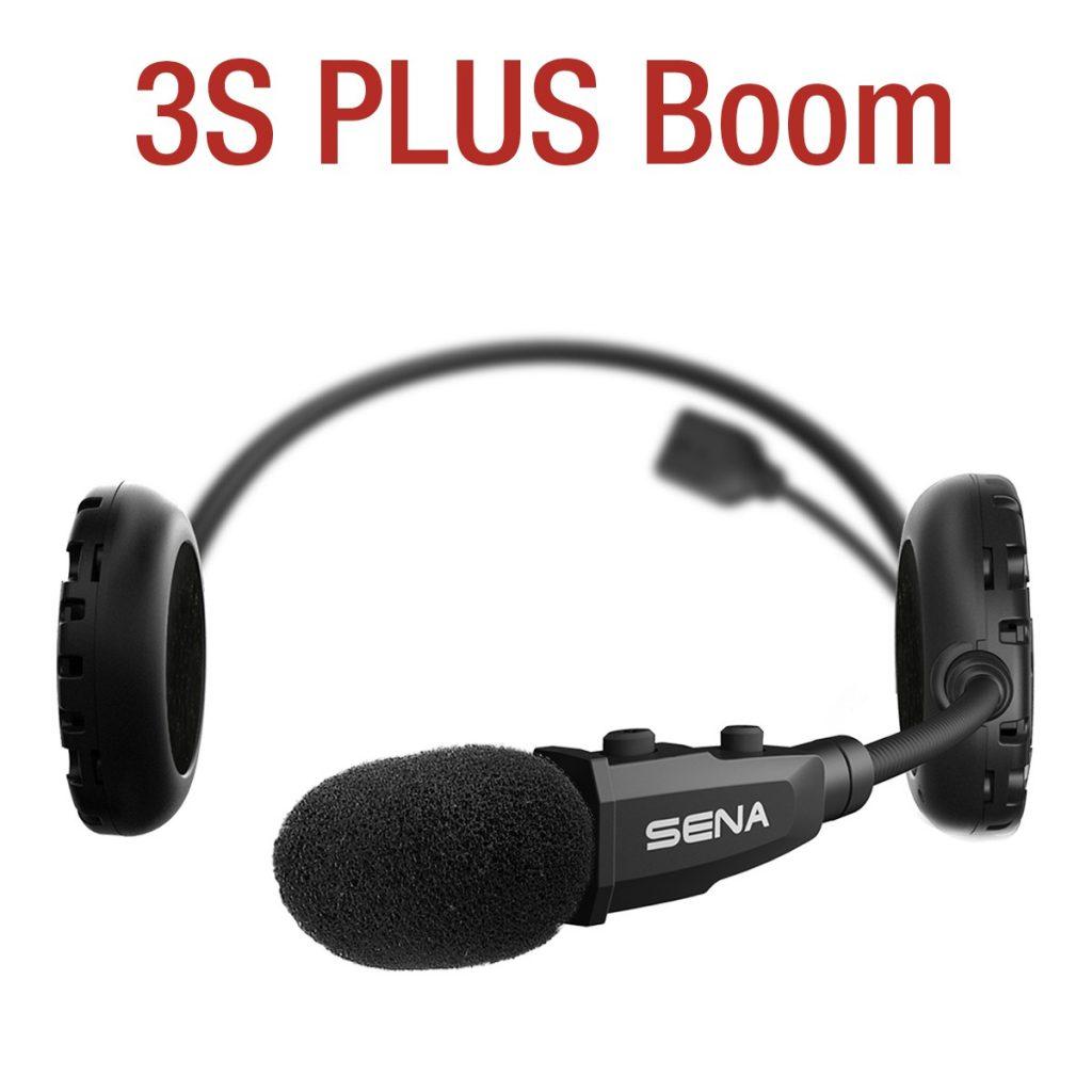Deux nouveautés chez Sena, le 3S Plus Boom et le 3S Plus