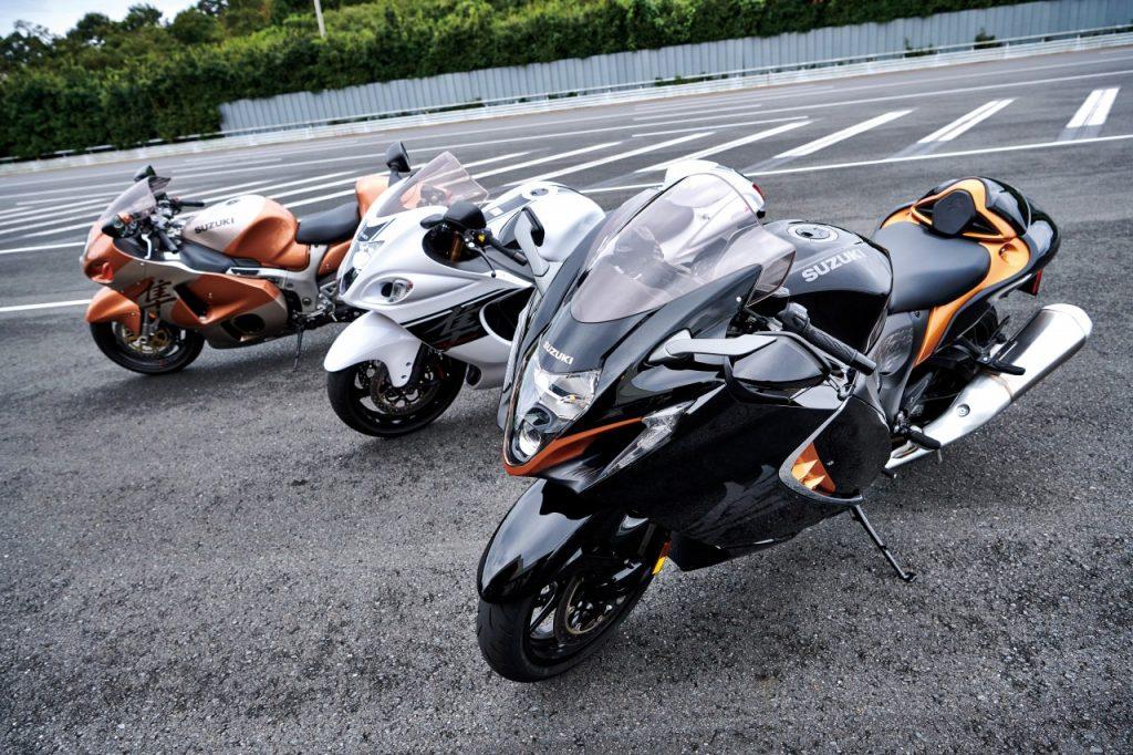 Une Suzuki Hayabusa nouvelle version