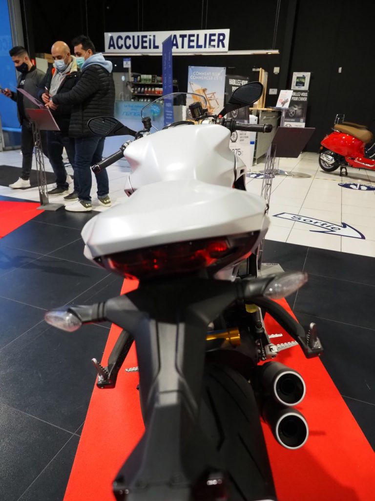 Les nouveautés Ducati et des MV Agusta chez Moto Renga