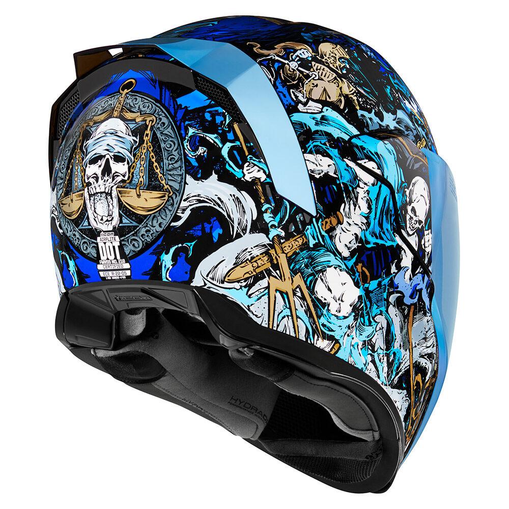Les décos barrées des nouveaux casques Icon