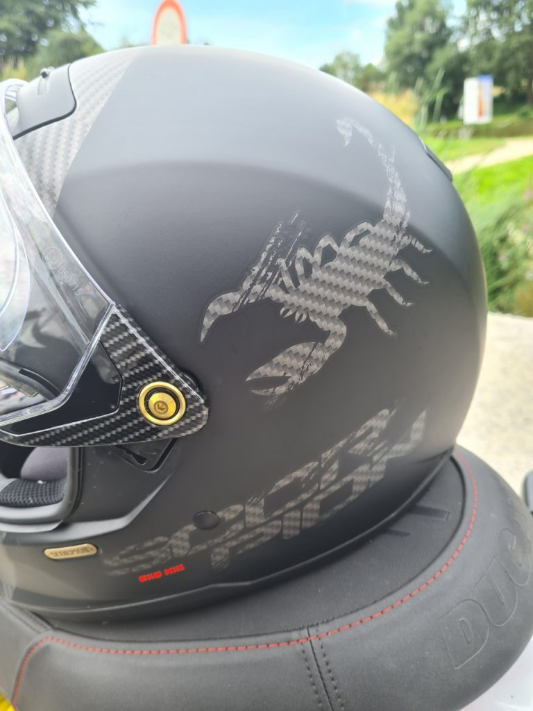 Scorpion Exo-HX1 streetfighter ou enduro
